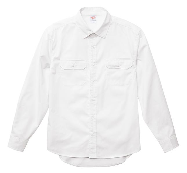T/Cワークロングスリーブシャツ
