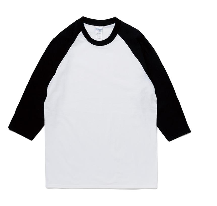 プレミアムコットン七分袖ラグランTシャツ