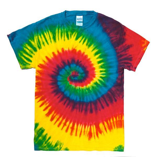 タイダイTシャツ(レインボー&マルチ)