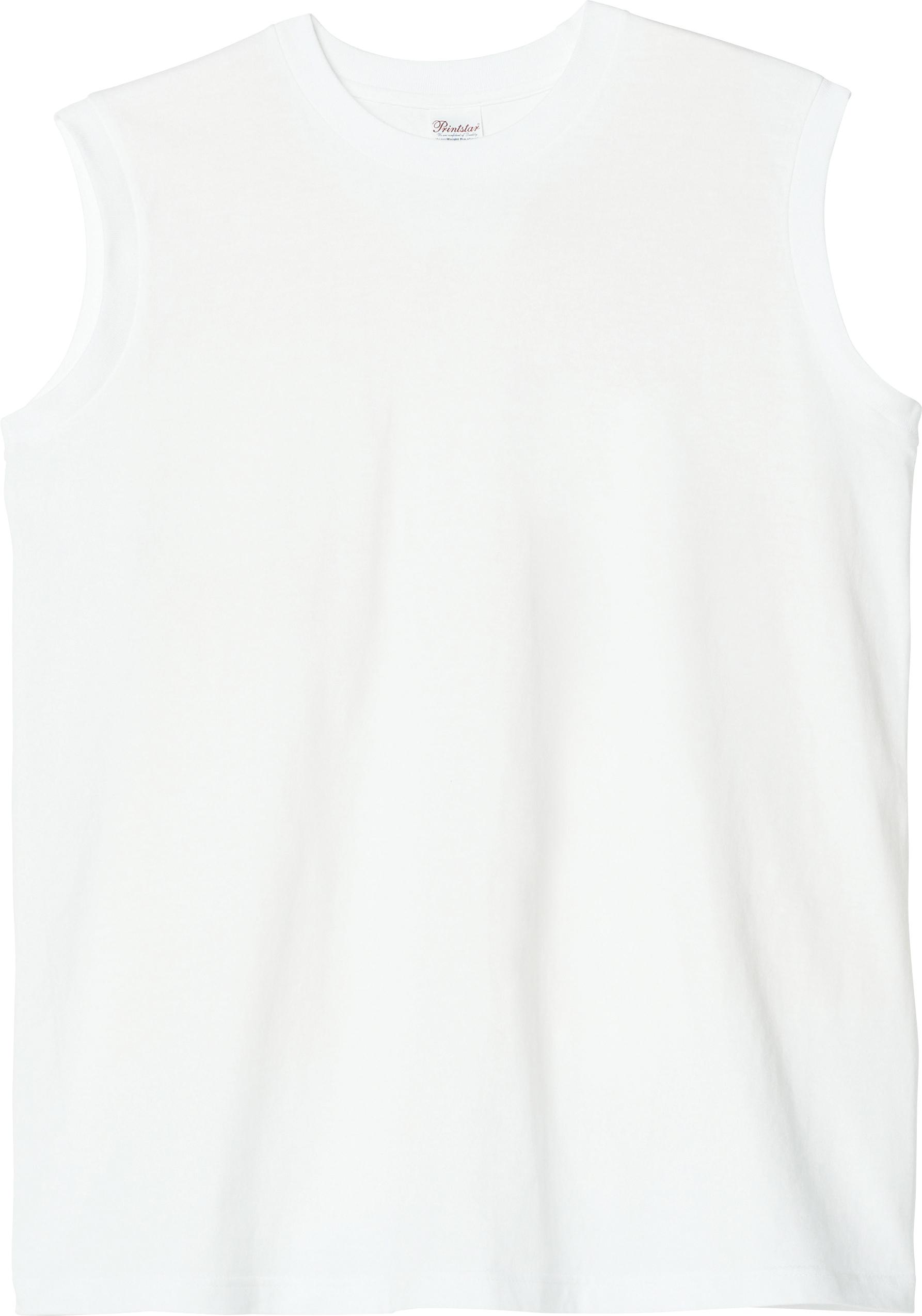 ヘビーウェイトスリーブレスTシャツ
