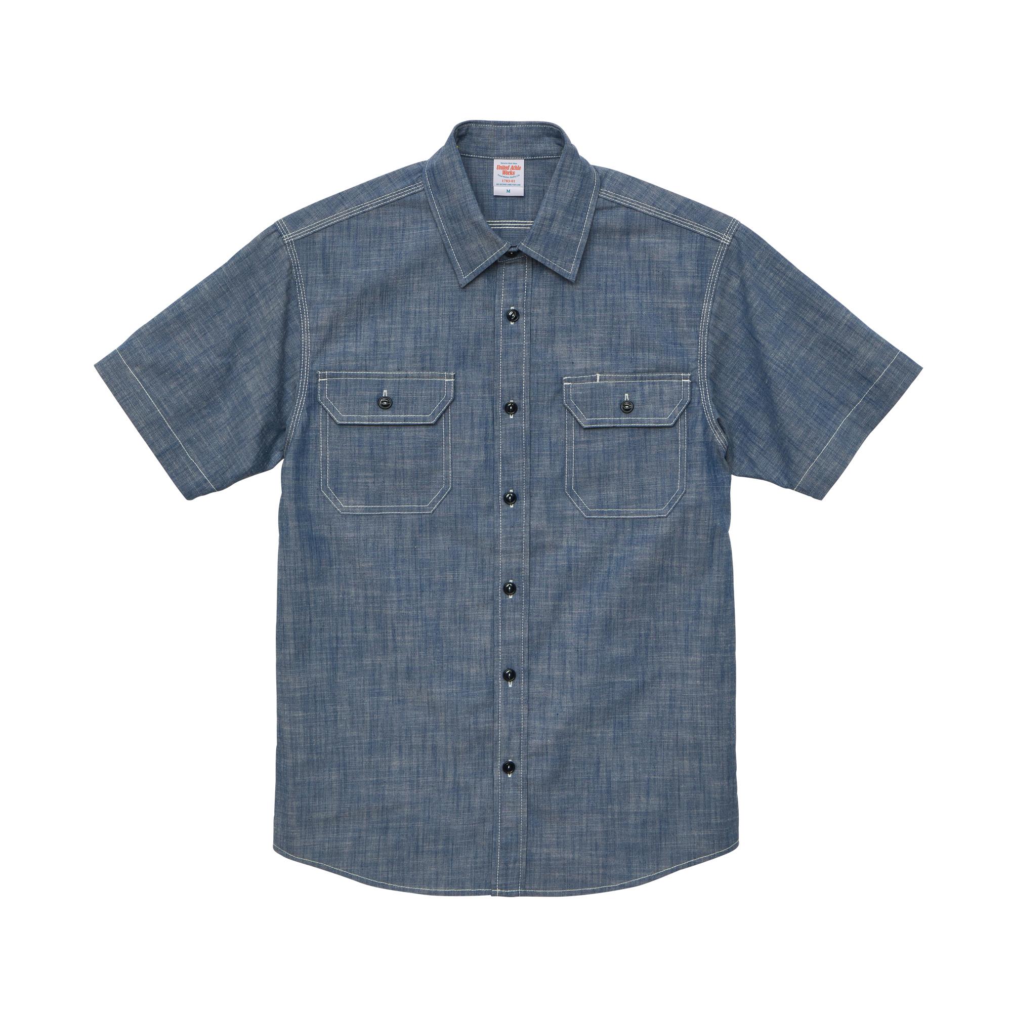 T/Cシャンブレーワークシャツ