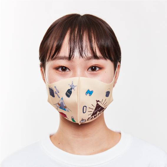 キャンプサークルマスク